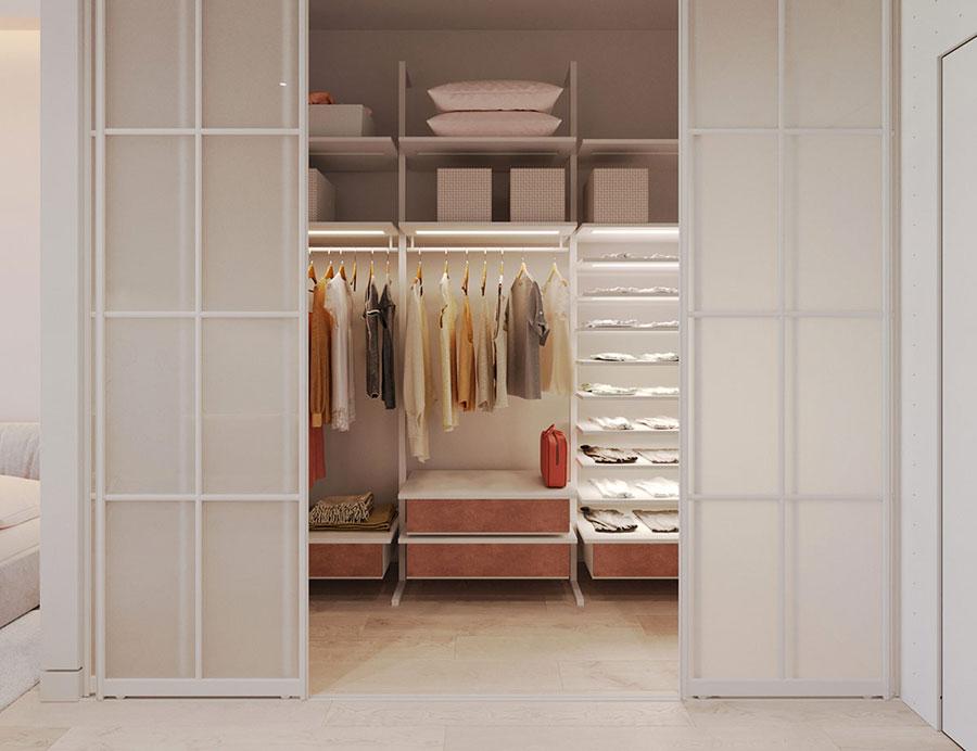 Progetto per cabina armadio da sogno n.06