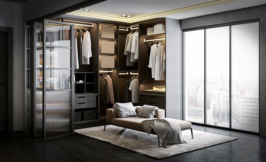 Progetto per cabina armadio da sogno n.33