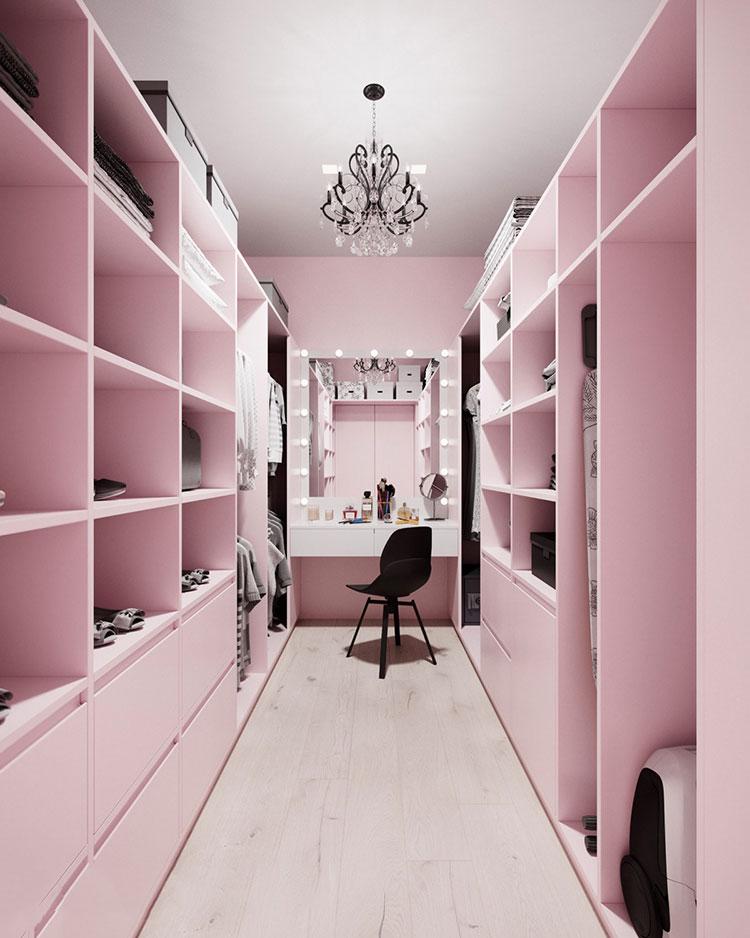Progetto per cabina armadio da sogno n.36