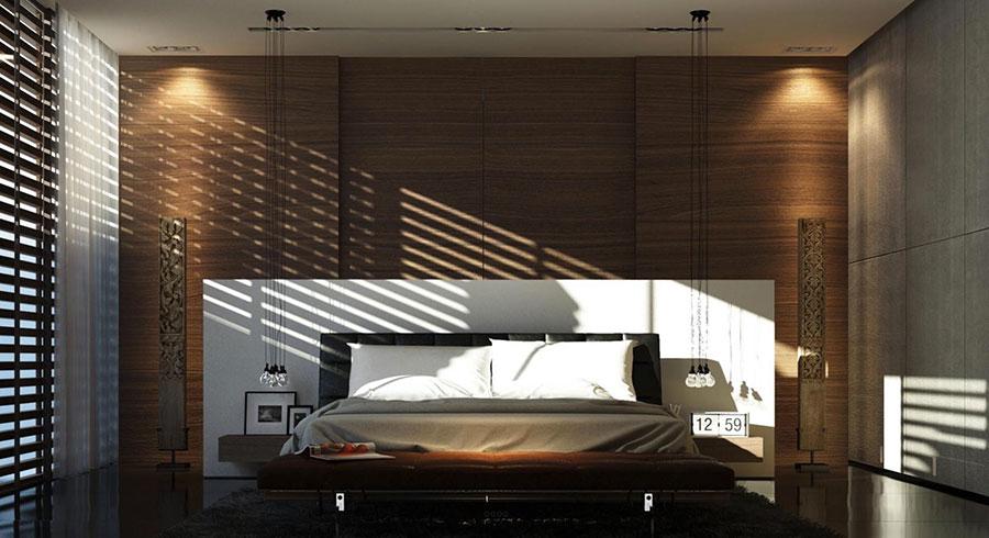 Idee per arredare una camera da letto marrone n.07