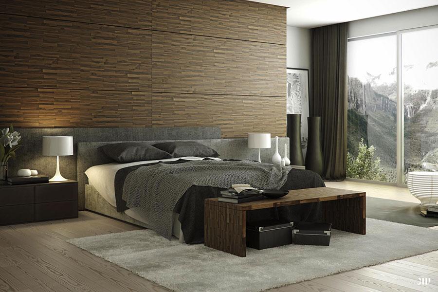 Idee per arredare una camera da letto marrone n.08