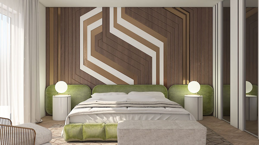 Idee per arredare una camera da letto beige e marrone n.03