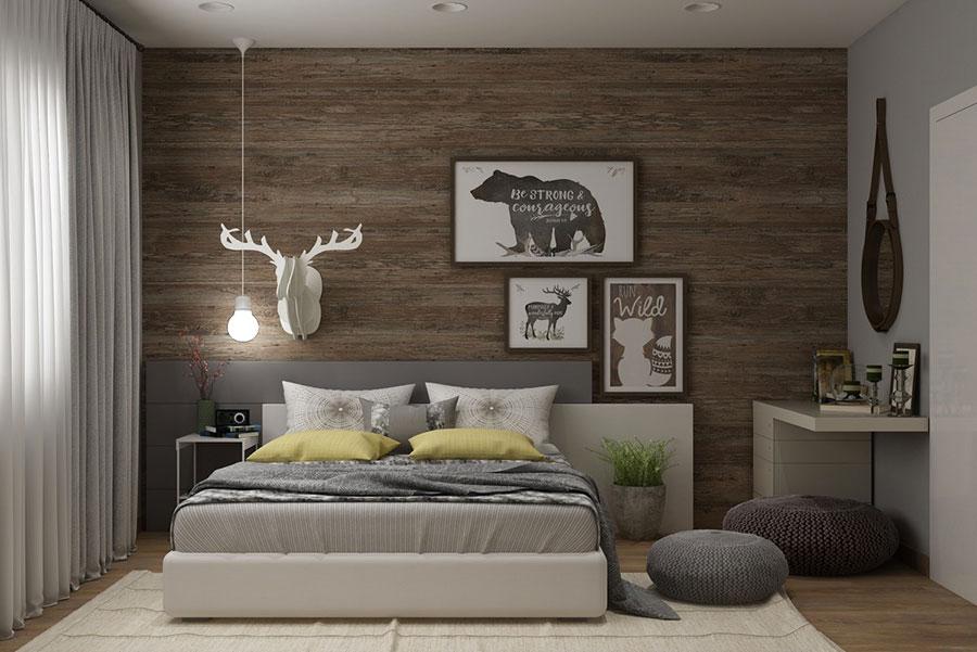 Idee per arredare una camera da letto marrone n.21