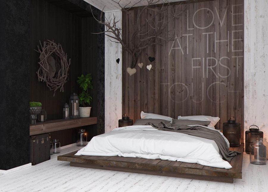 Idee per arredare una camera da letto marrone n.22