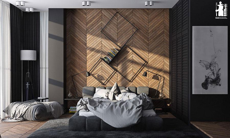 Idee per arredare una camera da letto marrone n.23