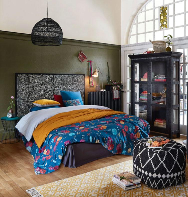 Idee per arredare una camera da letto etnica n.26