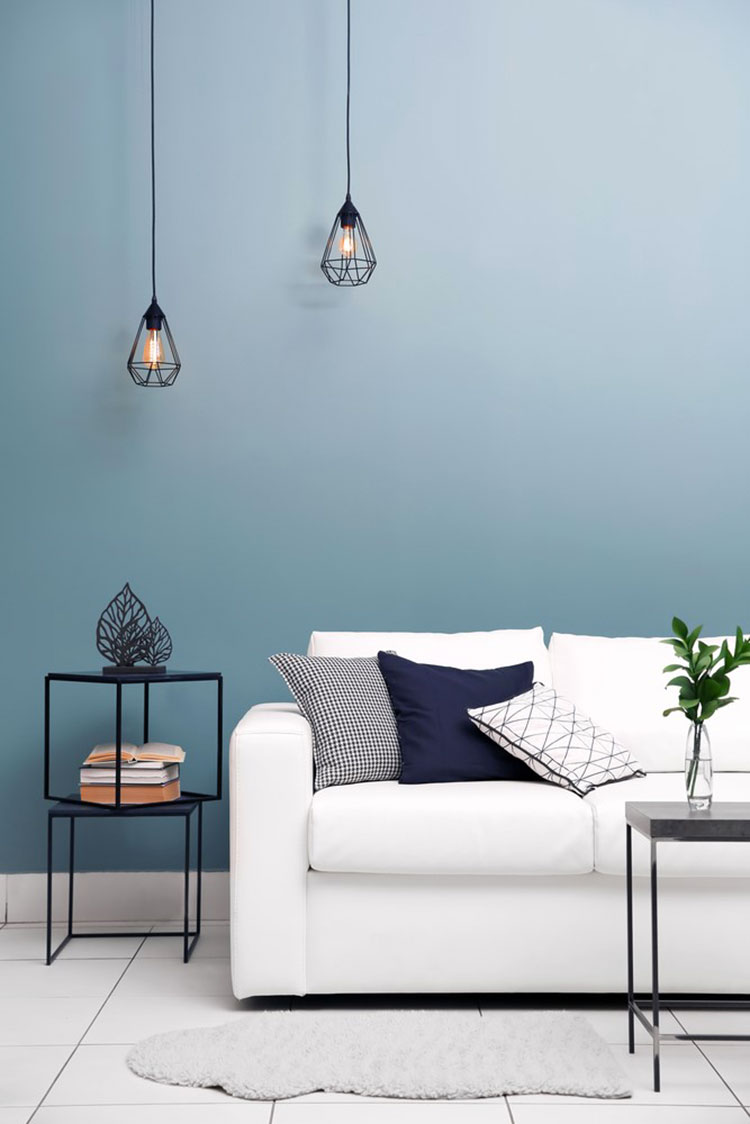 Colore di tendenza 2020 Purist blue n.1