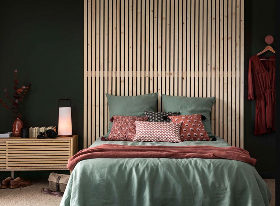 Colore di tendenza 2020 per pareti della camera da letto n.03