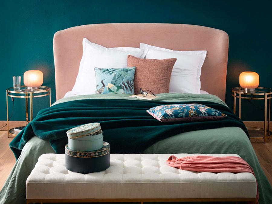 Colore di tendenza 2020 per pareti della camera da letto n.05