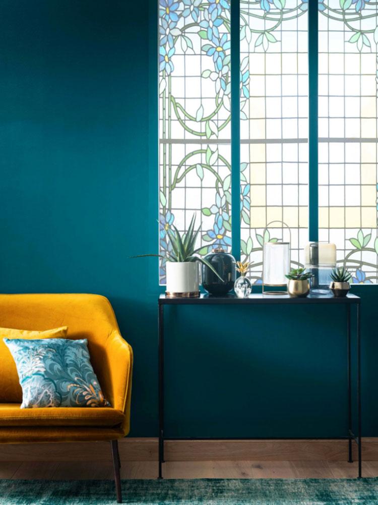 Colore di tendenza 2020 per pareti del soggiorno n.04