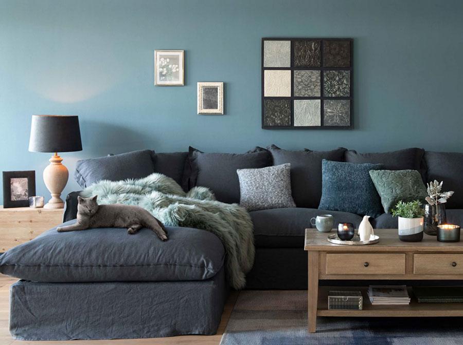 Colore di tendenza 2020 per pareti del soggiorno n.06