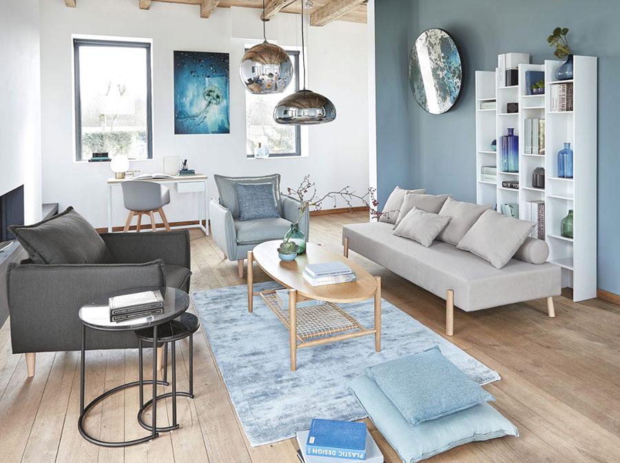 Colore di tendenza 2020 per pareti del soggiorno n.07