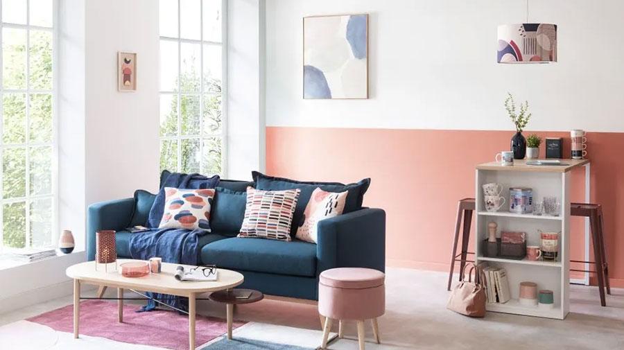 Colore di tendenza 2020 per pareti del soggiorno n.10