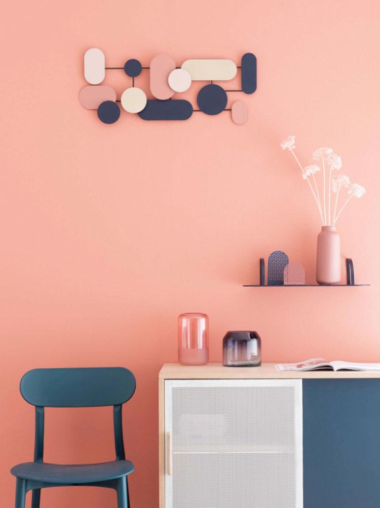 Colore di tendenza 2020 per pareti del soggiorno n.11