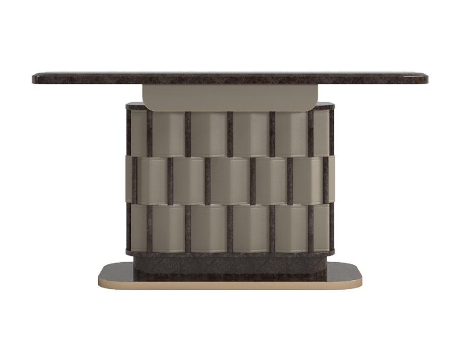 Modello di consolle per ingresso vintage di design n.09