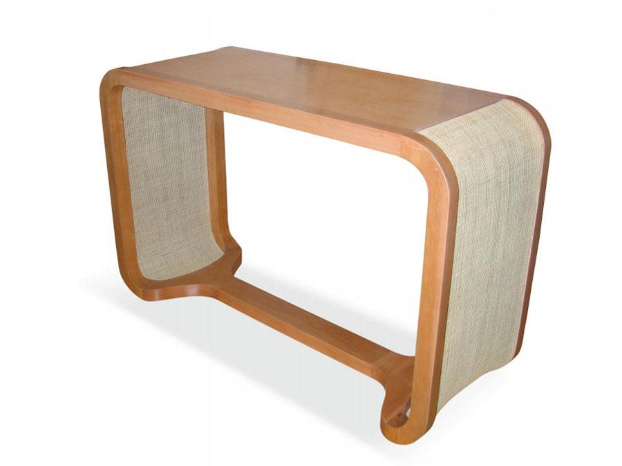 Modello di consolle per ingresso vintage di design n.10