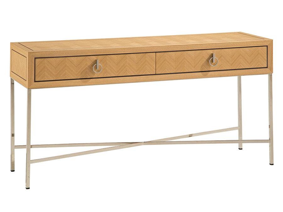 Modello di consolle per ingresso vintage di design n.19