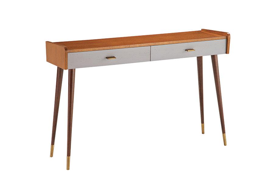 Modello di consolle per ingresso vintage di design n.20