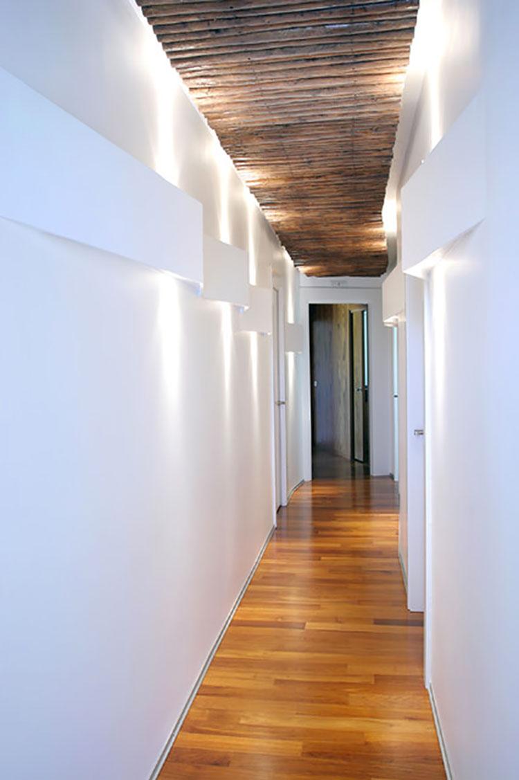 Idee per dipingere un corridoio bianco 1