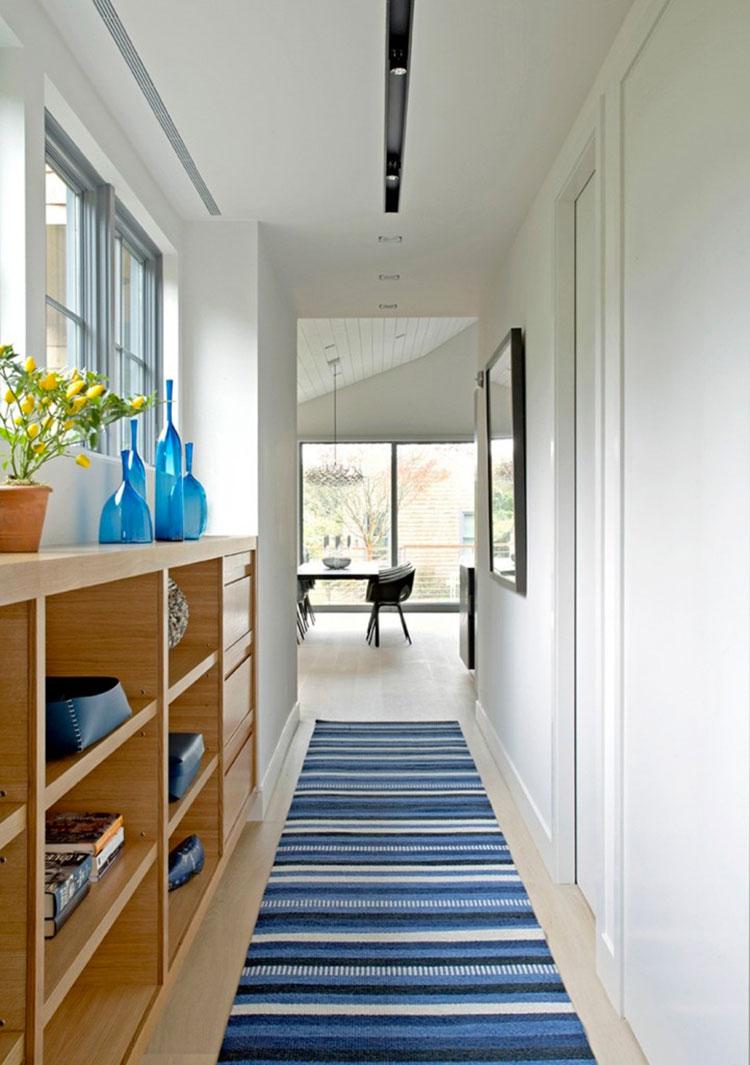 Idee per dipingere un corridoio bianco 2
