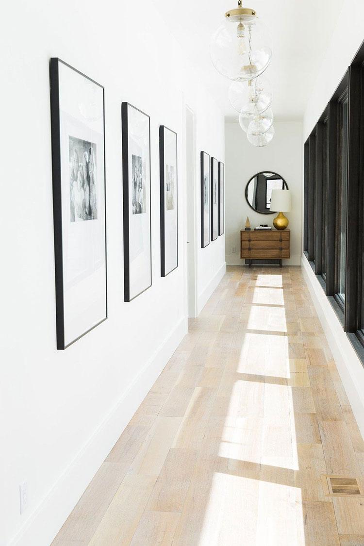 Idee per dipingere un corridoio bianco 3