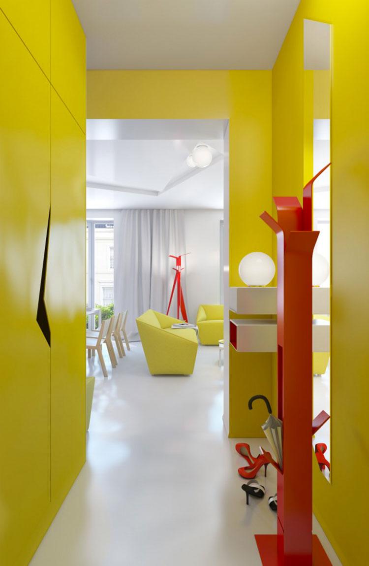 Idee per dipingere un corridoio giallo 2