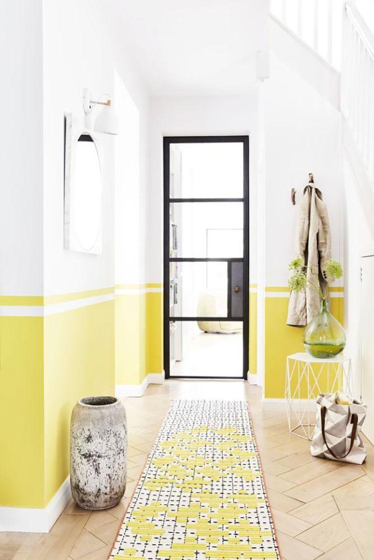 Idee per dipingere un corridoio giallo 3