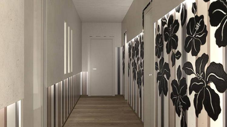 Idee per dipingere un corridoio grigio 4