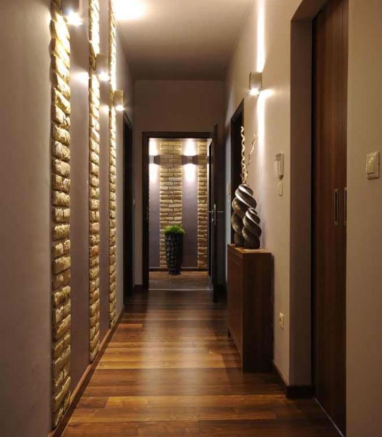 Idee per dipingere un corridoio marrone 1