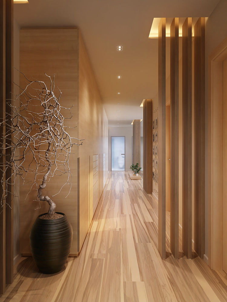 Idee per dipingere un corridoio marrone 3