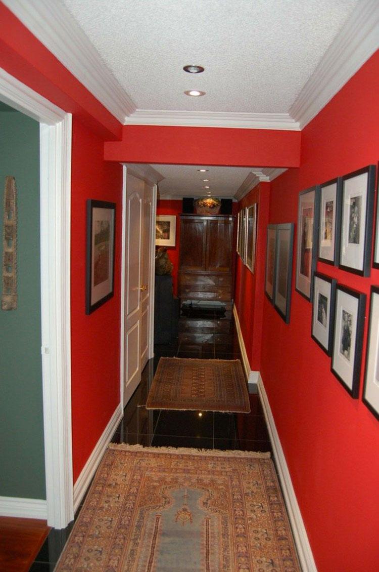 Idee per dipingere un corridoio rosso 1