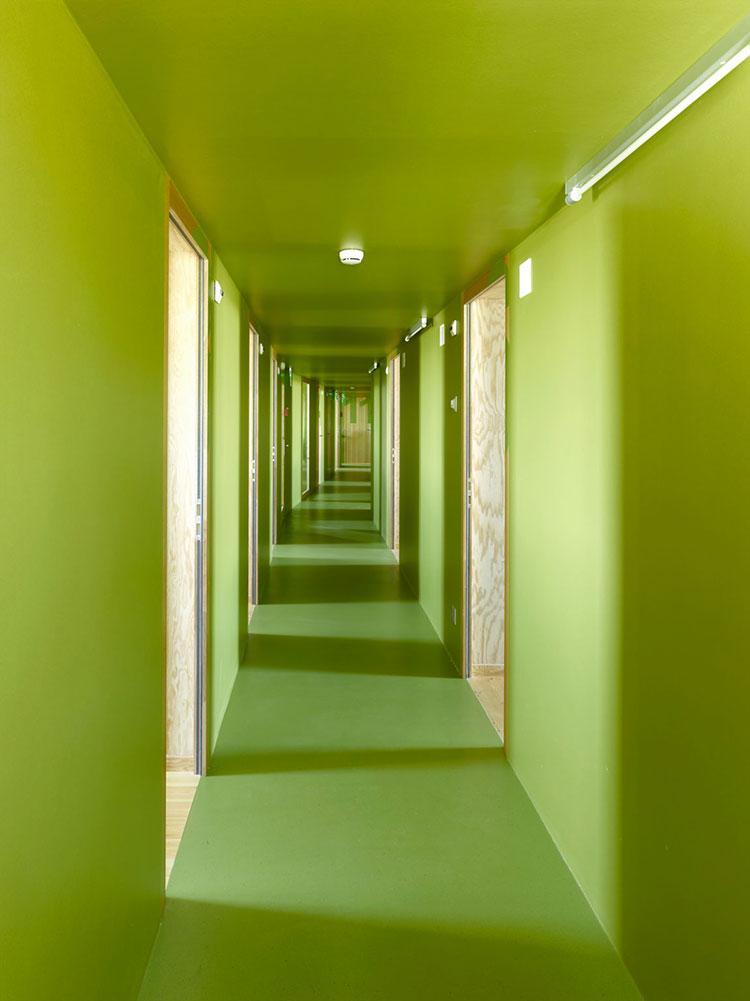 Idee per dipingere un corridoio verde 2