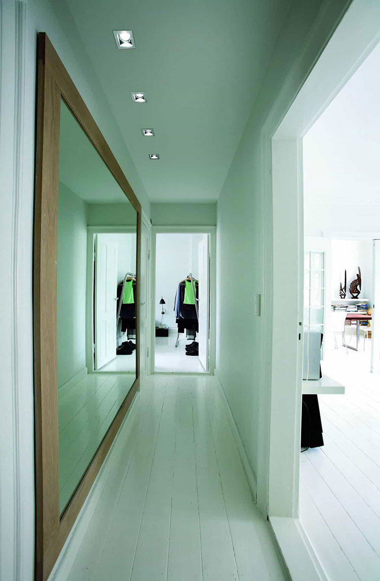 Idee per dipingere un corridoio verde 3