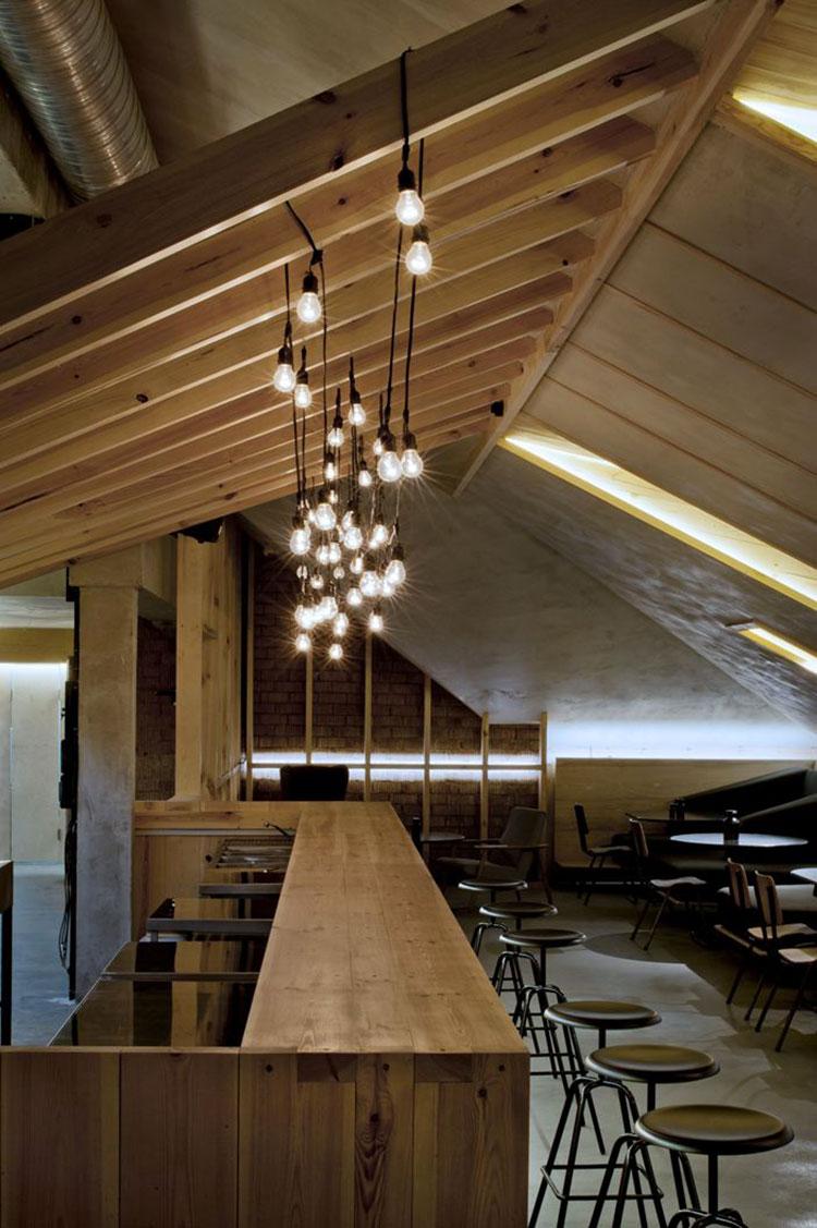 Idee per luci pendenti in mansarda n.04