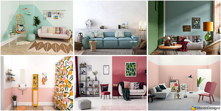 Idee per colori di pareti di tendenza