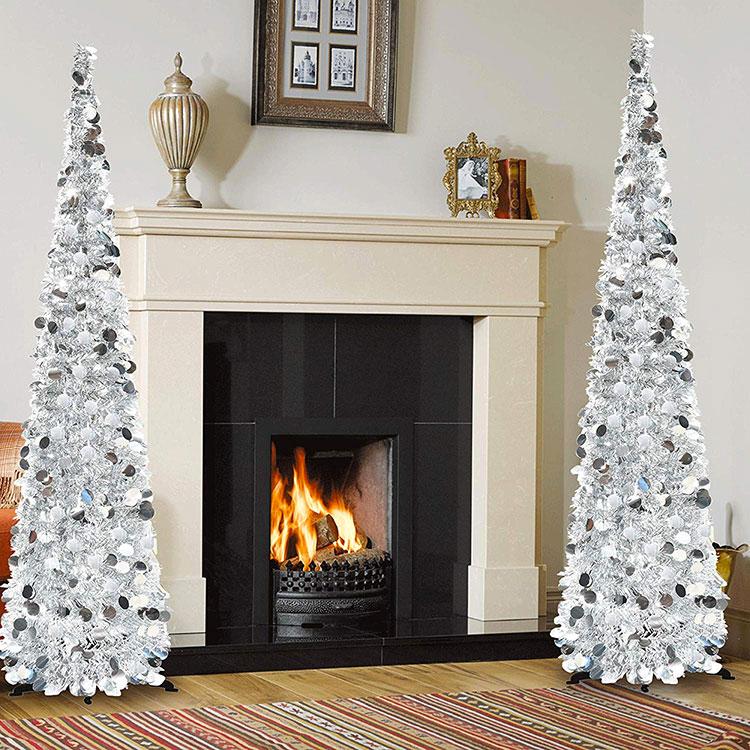 Modello di albero di Natale moderno di design n.01
