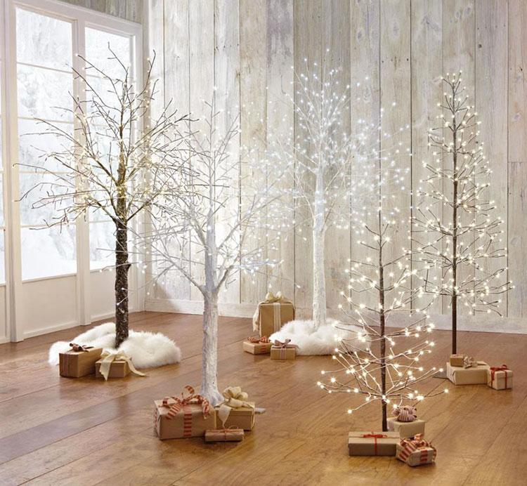 Modello di albero di Natale moderno di design n.02