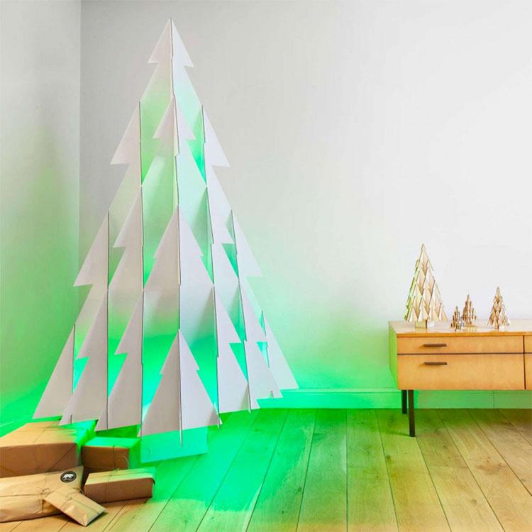 Modello di albero di Natale moderno di design n.03