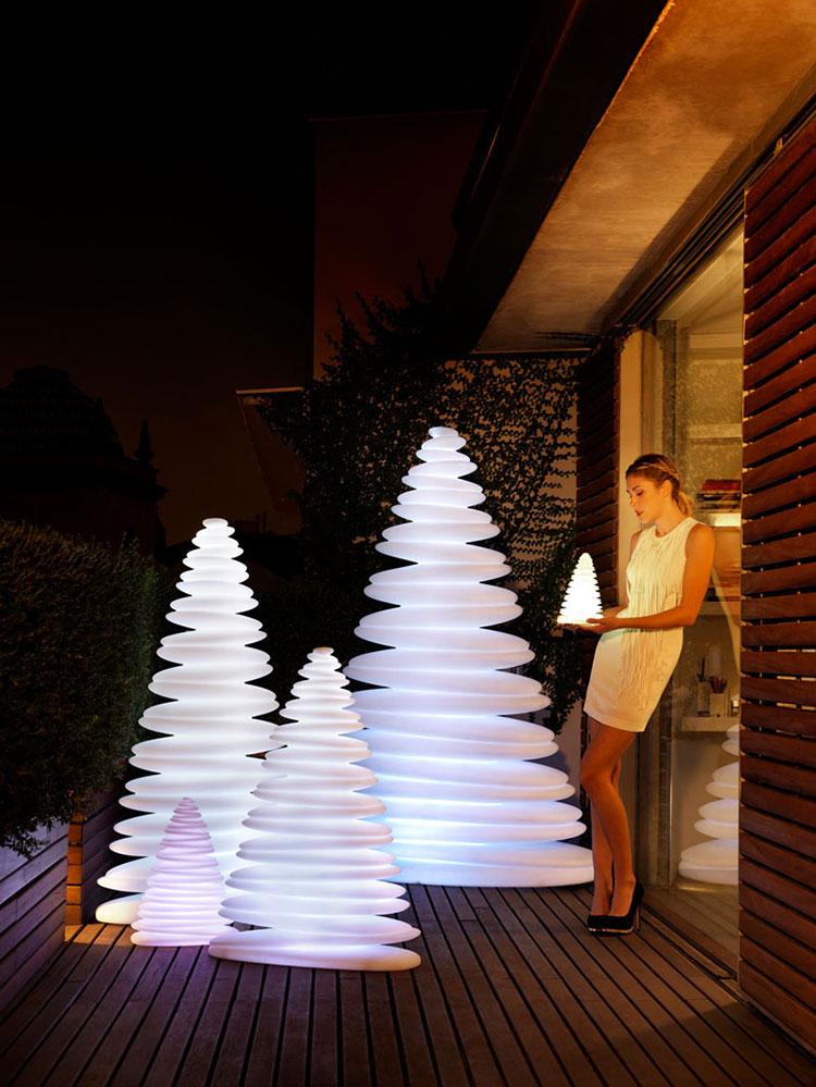 Modello di albero di Natale moderno di design n.04