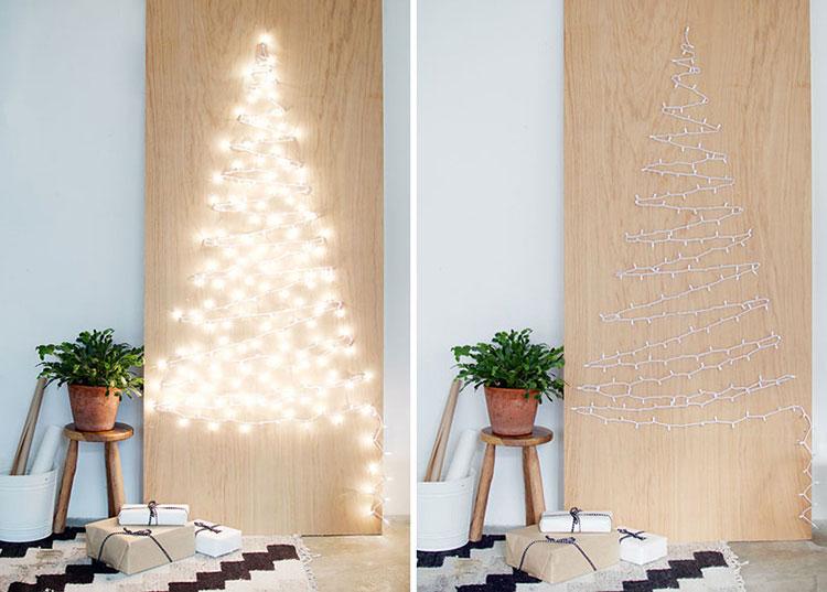 Modello di albero di Natale moderno fai da te n.05