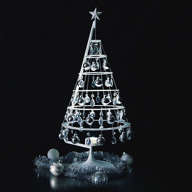 Modello di albero di Natale moderno piccolo n.03