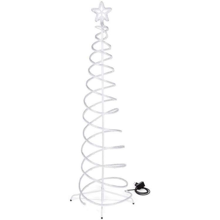 Modello di albero di Natale moderno a spirale n.01