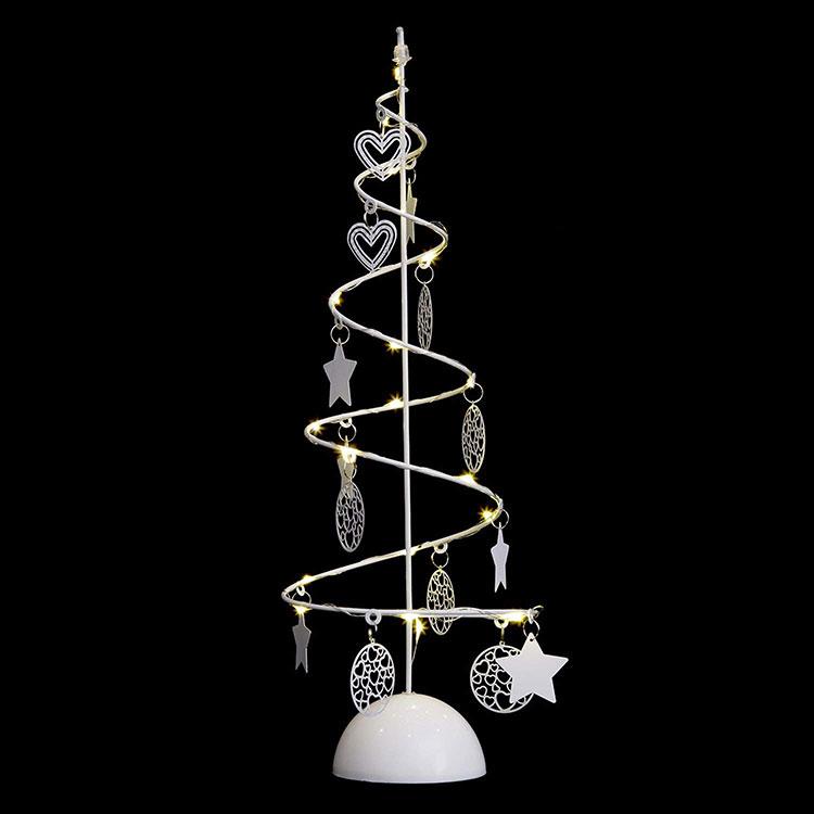 Modello di albero di Natale moderno a spirale n.02