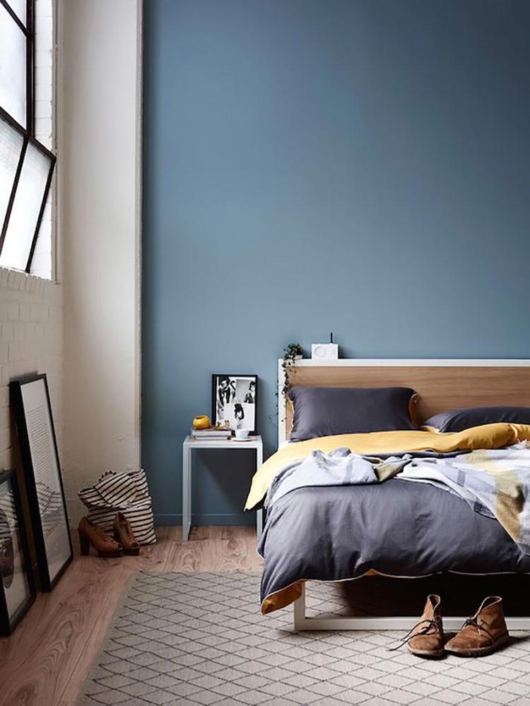Idee per camera da letto colore avio 1