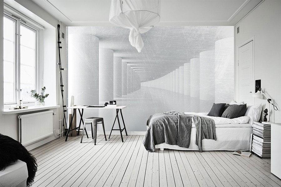 Modello di carta da parati 3D per camera da letto n.05