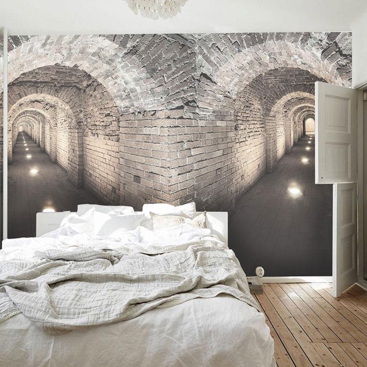 Modello di carta da parati 3D per camera da letto n.07