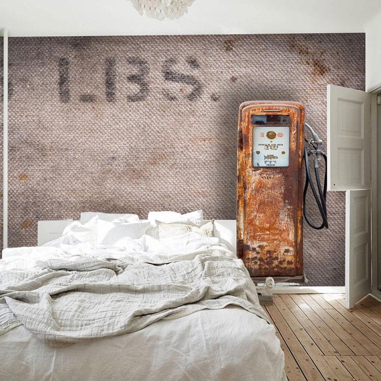 Modello di carta da parati 3D per camera da letto n.09