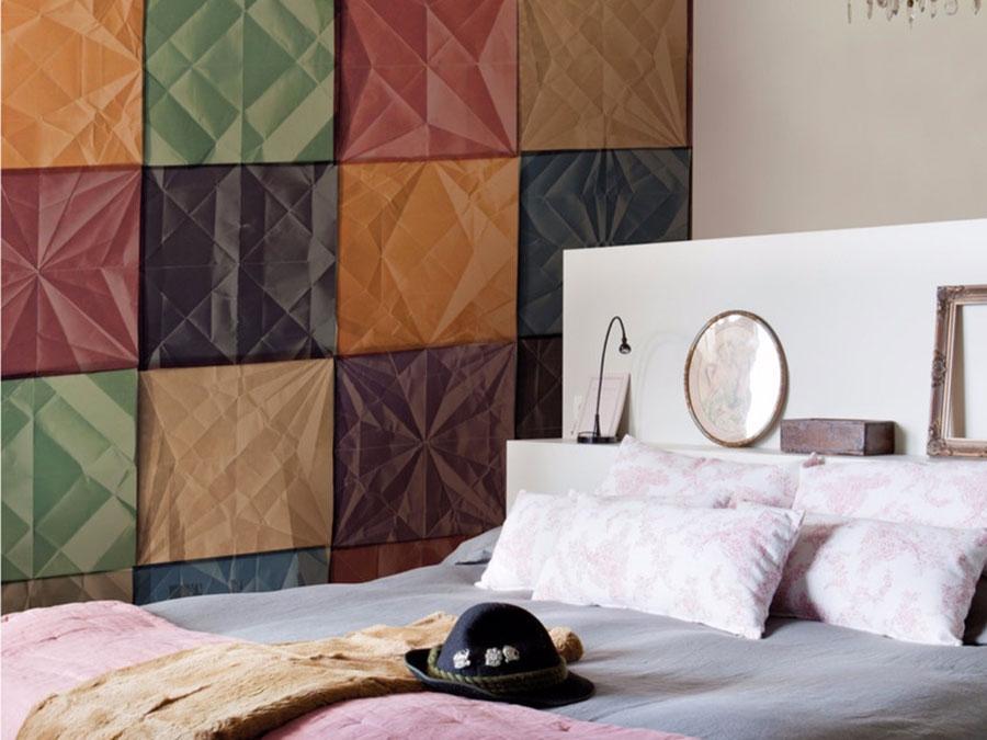 Modello di carta da parati moderna per camera da letto n.06