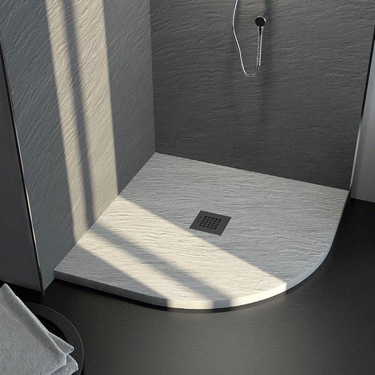 Modello di doccia per bagno effetto cemento n.03