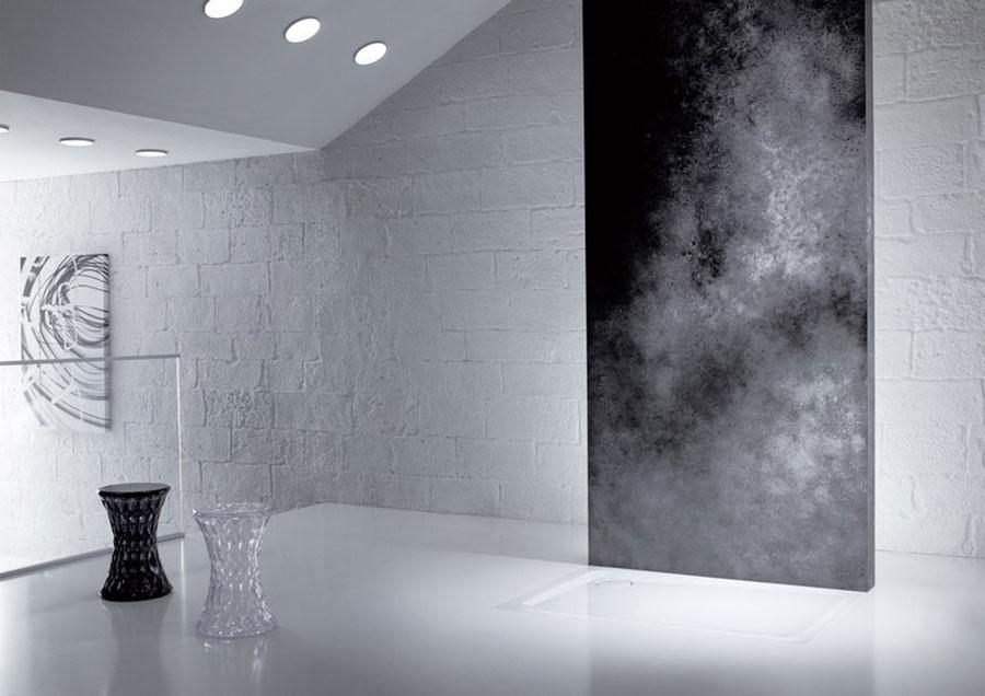 Modello di doccia a filo pavimento n.01